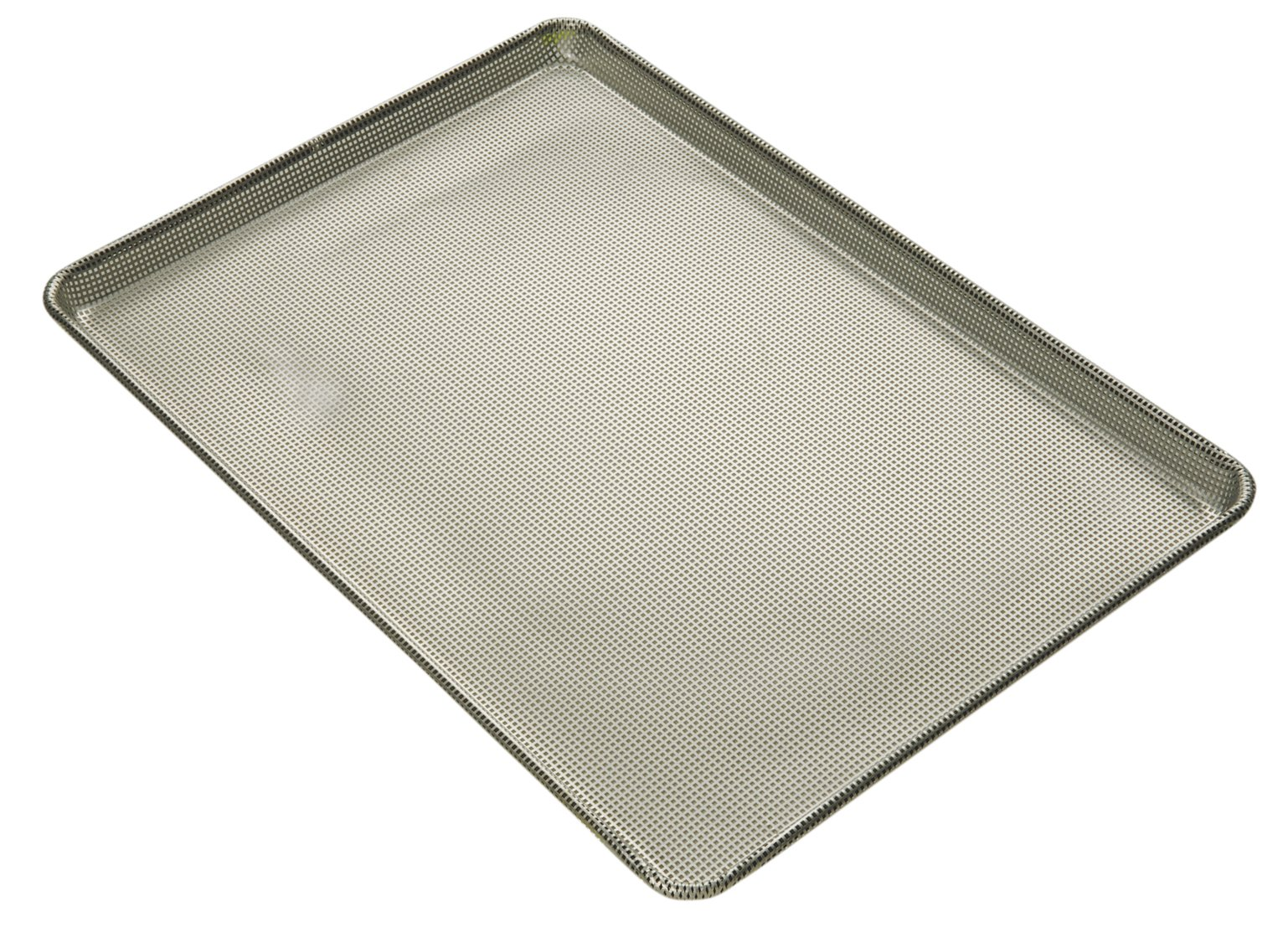Focus Foodservice Commercial Bakeware 16-Gauge Aluminum Fully Perforated-Sheet Pan, Full Size
