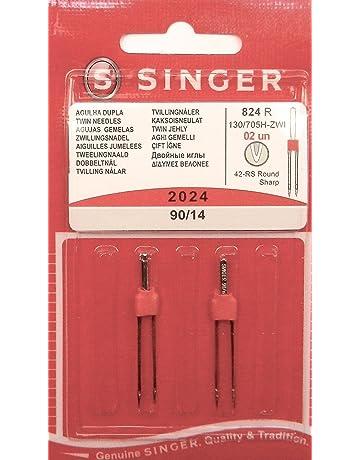 Singer 2 Original Universal Zwilling Agujas de Coser 2024 Grosor 90/14