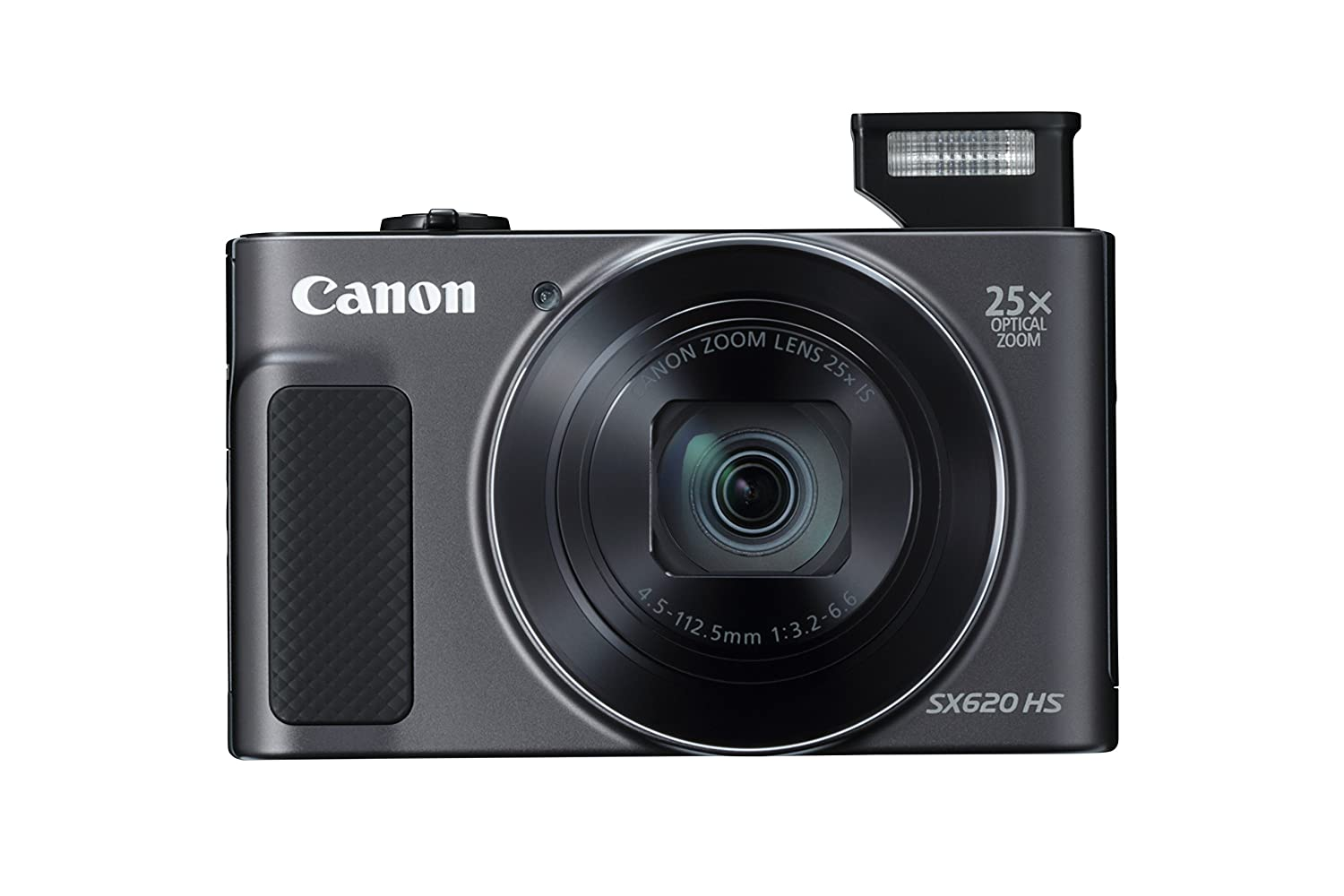 Buy Canon PowerShot SX620HS 20.2MP Digital Camera with 25x Optical Zoom  (Black) + 16GB Memory Card + Camera Case Online at Low Price in India |  Canon Camera ...