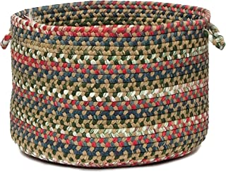 product image for Colonial Mills Chestnut Knoll Utility Basket, 14 by 10-Inch, Straw Beige