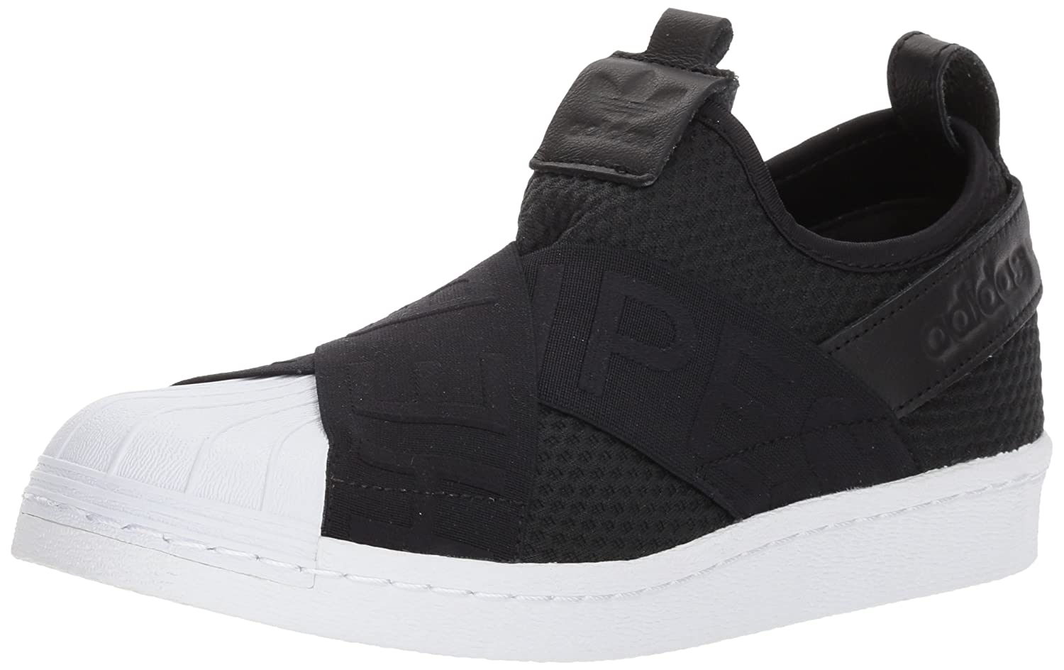 adidas Originals Women's Superstar Slipon W Sneaker B07232KVC5 7 B(M) US|Core Black/Core Black/White