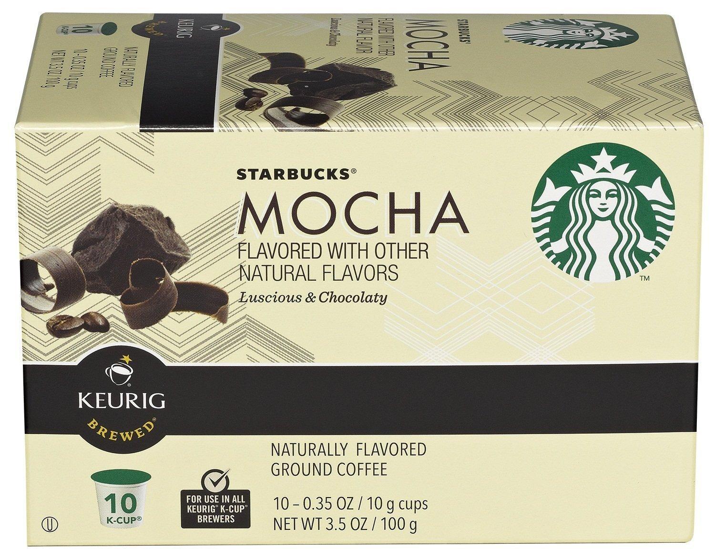 Starbucks K-Cup Mocha, Pack of 18