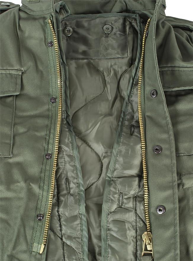 normani 2 in 1 Kinder Winterjacke M65 Style mit