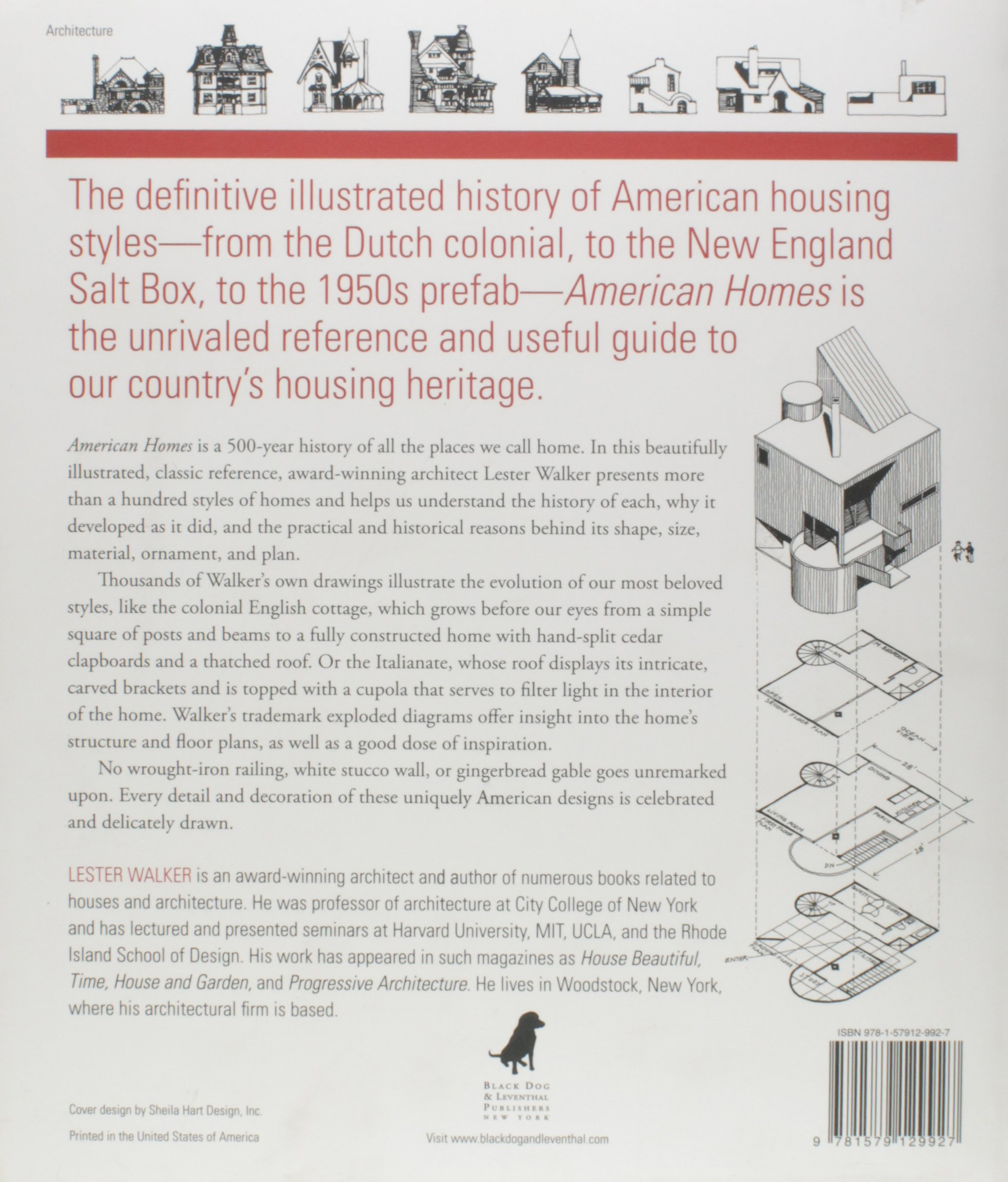 American Homes: The Landmark Illustrated Encyclopedia of