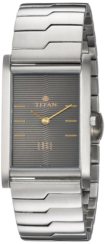 Titan Analog Grey Dial Men's Watch