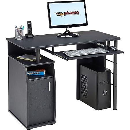 Scrivania Con Monitor A Scomparsa.Piranha Computer E Scrivania Con Scomparto Per Armadio Mensola A