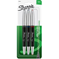 Sharpie Pen Grip Negro, Azul, Rojo 3pieza(s) pluma estilográfica - Pluma estilográficas (Negro, Azul, Rojo, Multicolor, 3 pieza(s))