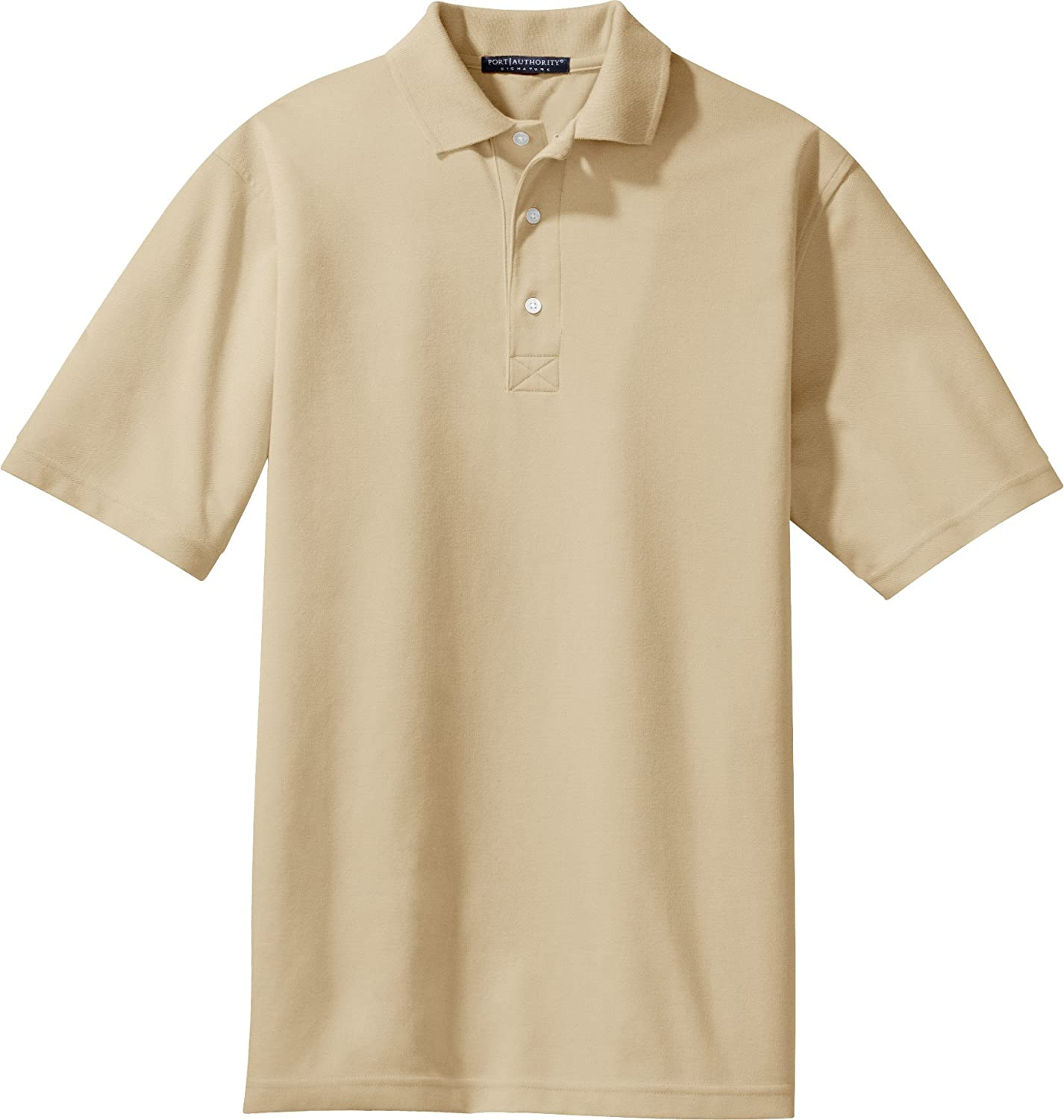 Stone Rapid Dry Polo Sport Shirt K455 Port Authority Signature X-Small