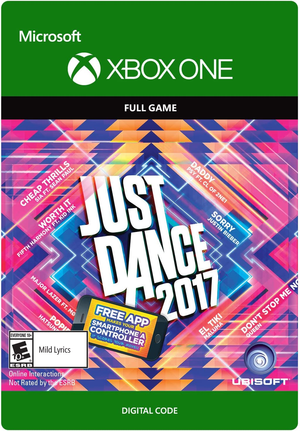 Amazon com: Just Dance 2017 - Xbox One Digital Code: Video Games