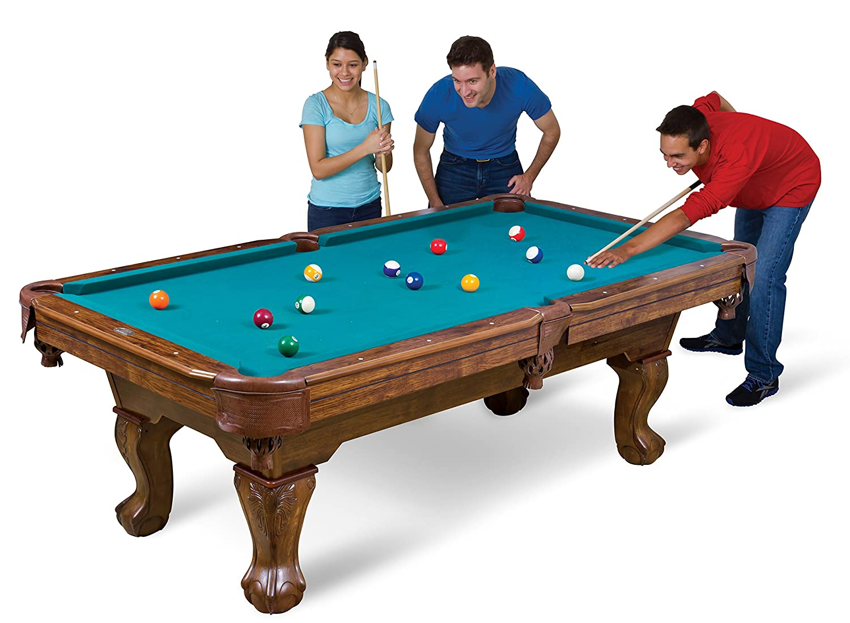 Amazon.com : EastPoint Sports Brighton Billiard Table, 87 Inch : Sports U0026  Outdoors