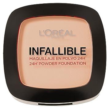 d1c1a33b9 L'Oreal Paris Infallible 24H Compact Powder Foundation - 0.31 oz., 123 Warm