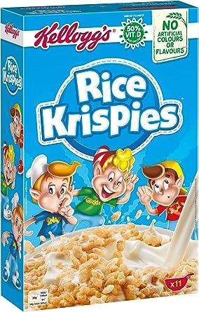 Kelloggs Cereales Rice Krispies - 2 Paquetes de 340 gr - Total ...