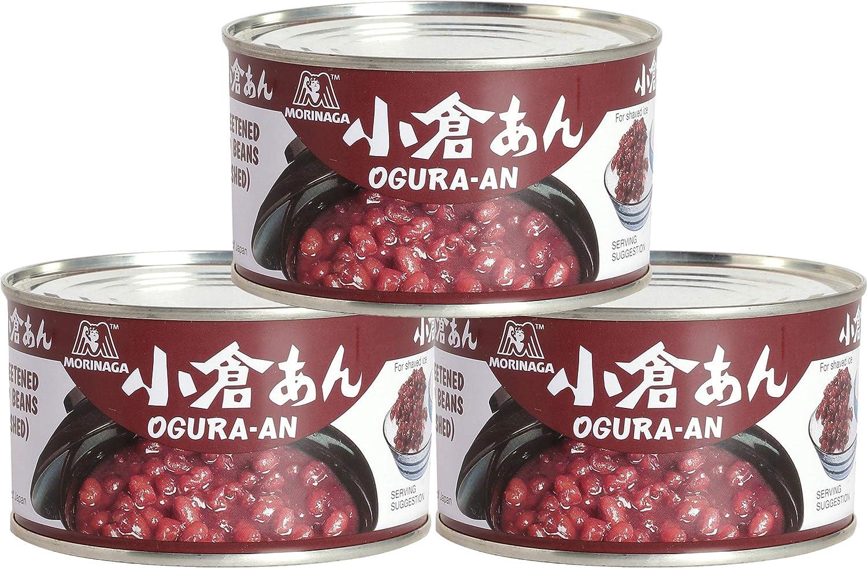 Morinaga Ogura An (Sweetened Red Beans) 15.16 Oz (3pack)