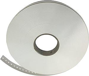 "Safe-T-Proof STP-ST-221-00-WH Bulk Fastening Strap, 1""-100', White"