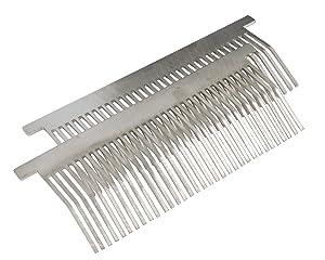 American Eagle Food Machinery AE-TS12H/01-F SS Comb Set (2) for AE-TS12H, AE-JS12H, AE-TS12, AE-JS12
