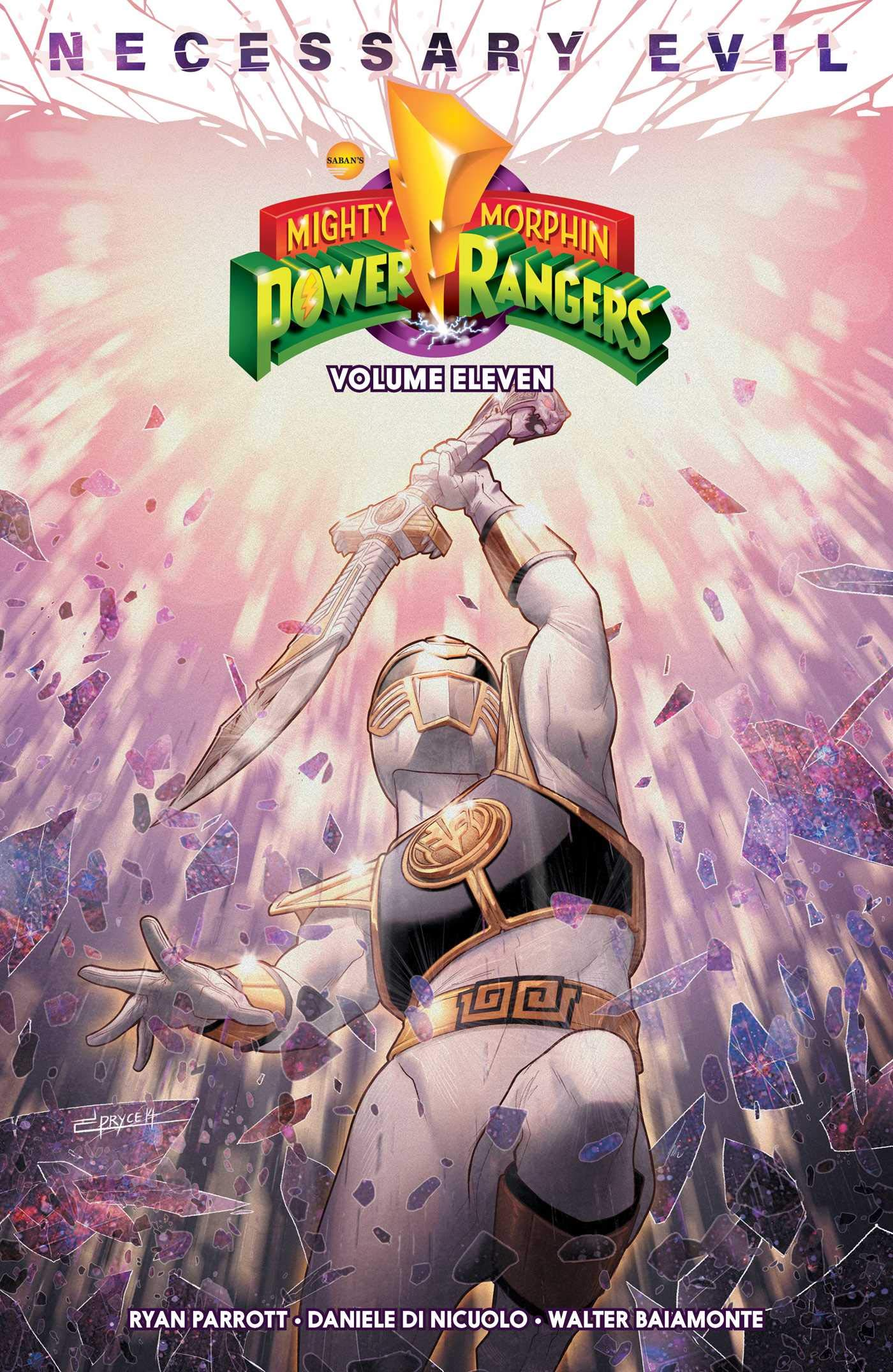 Mighty Morphin Power Rangers Vol. 11 (11): Parrott, Ryan, Di ...