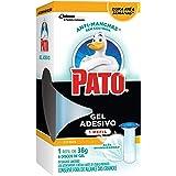 Desodorizador Sanitário Pato Gel Adesivo Refil Ação Branqueadora Citrus, 1 refil com 6 discos