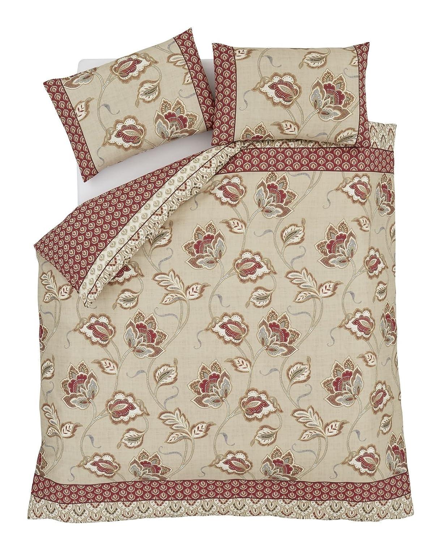 Catherine Lansfield Kashmir - Juego de cama (algodón de 200 hilos), doble: Amazon.es: Hogar