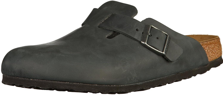 059463 Oiled Birkenstock Leather Boston Original Narrow Width 29DEHI