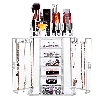 Ketten Aufbewahren hbf kosmetik aufbewahrung up organizer lippenstift