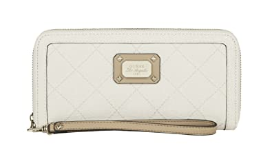 Guess Portefeuille Romeo Slg Blanc Amazoncouk Shoes Bags