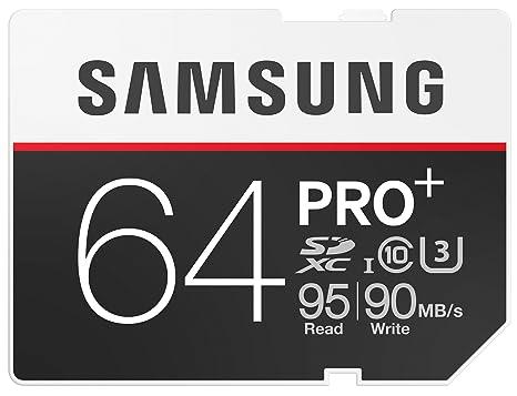 Samsung MB-SD64D/EU - Tarjeta de memoria SD de 64 GB, SDXC