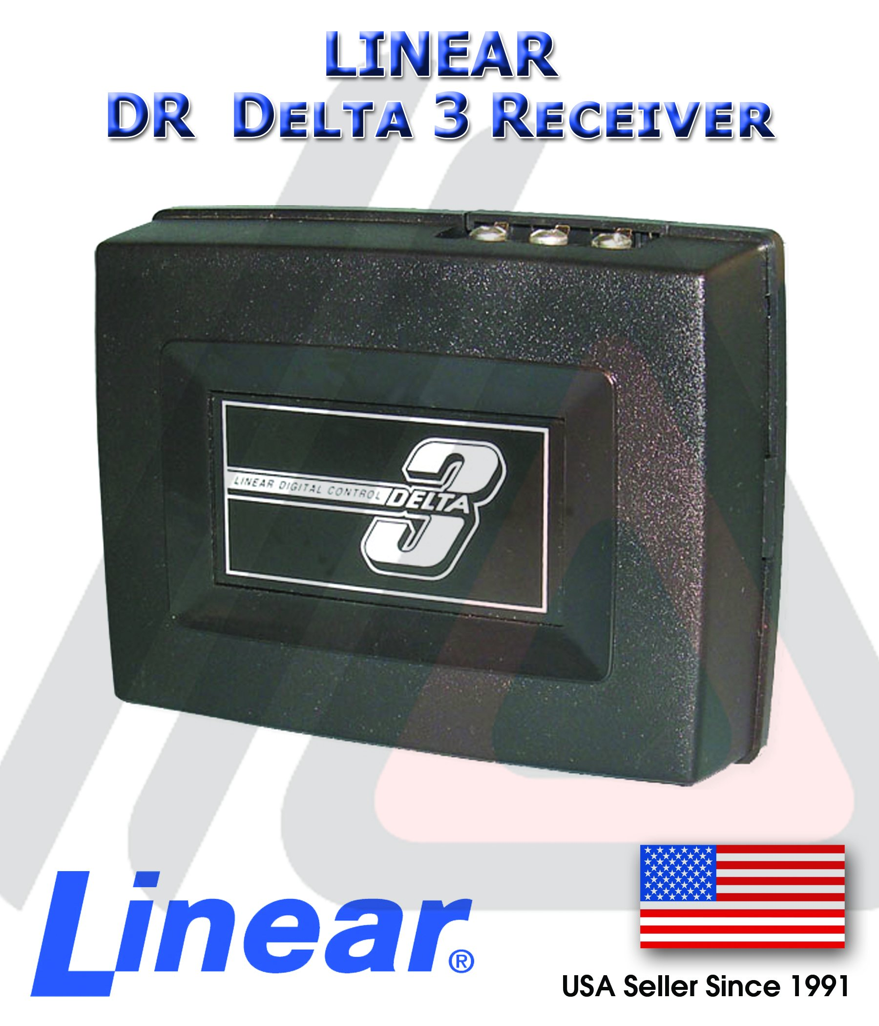 LINEAR DR DELTA3 Linear DNR00001 DR Delta-3 1-Channel Wireless Receiver