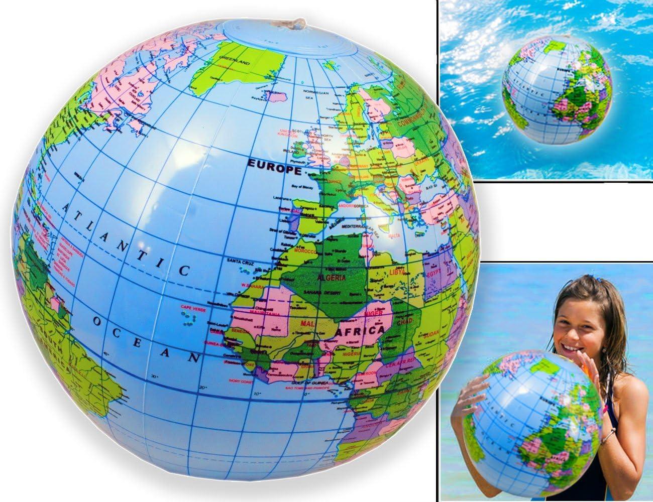 Walser * Home Tools.EU – Baño Ball Earth Globus Agua pelota ...