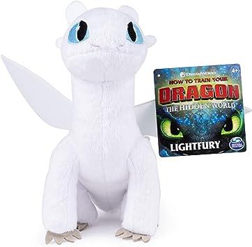 "How to Train Your Dragon The Hidden World Light Fury  8/"" Plush"