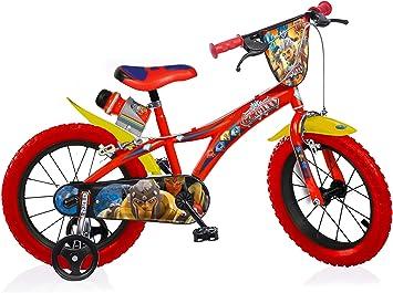 Gormiti Bicicleta Infantil Niño Chico 16 Pulgadas Freno Delantero y ...