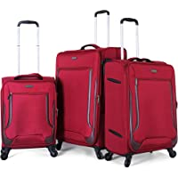 Diplomat Luggage Trolley Bags for Unisex, 16097-Red