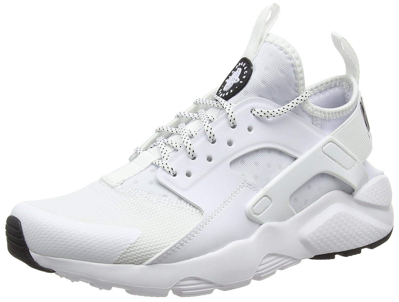 Nike Herren Air Huarache Run Ultra Mens Shoe Gymnastikschuhe, Weiszlig;/Schwarz  44.5 EU|Wei? (White/Black/Black 102)