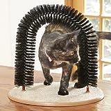 Click2Solutions The Purrfect Cat Arch Massage- und Fellpflegebogen für Katzen, mit Katzenminze