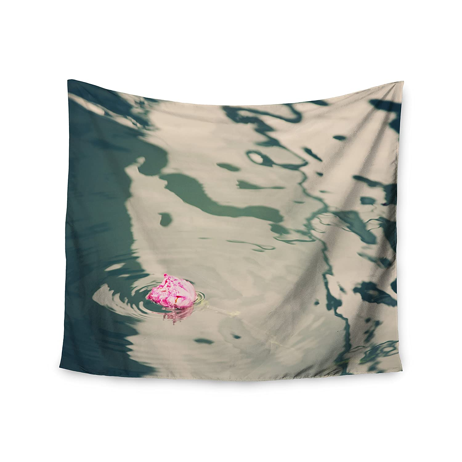 Kess InHouse Sylvia Coomes Venetian Rose Blue Pink Wall Tapestry 51 x 60