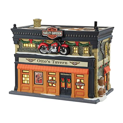 Amazon Com Department 56 Christmas In The City Village Otto S