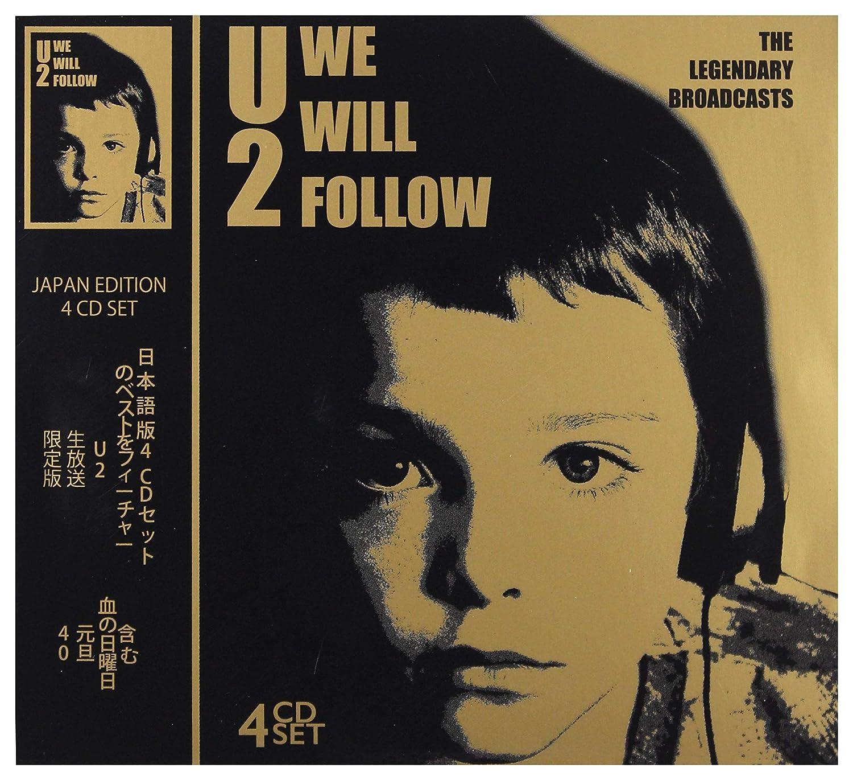 U2 - WE WILL FOLLOW: THE LEGENDARY BROADCASTS 4 CD SET: U2: Amazon.es: Música