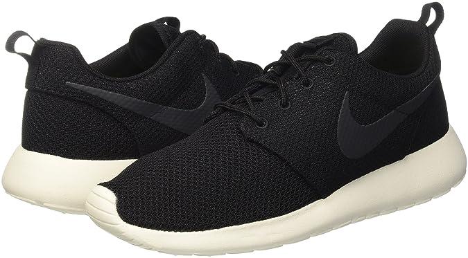 Amazon.com | Nike Mens Rosherun Black/Anthracite/Sail Running ShoeÊ | Running