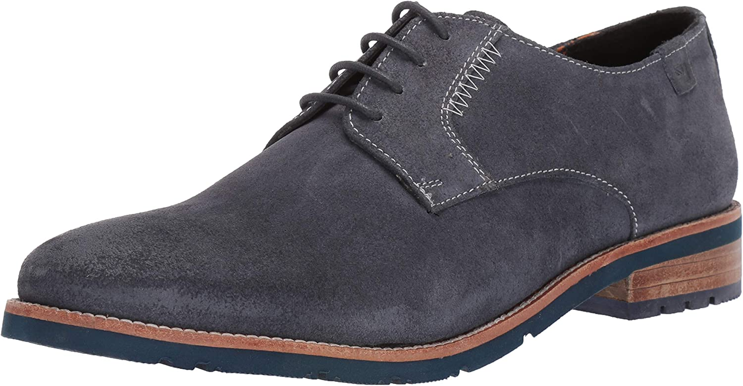 Ben Sherman Mens Rugged Leather Ox Oxford
