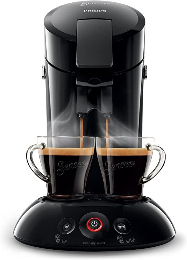 75/Liter Philips hd6554//51/Maschine Kaffeepadmaschine Senseo Original hellgrau 0