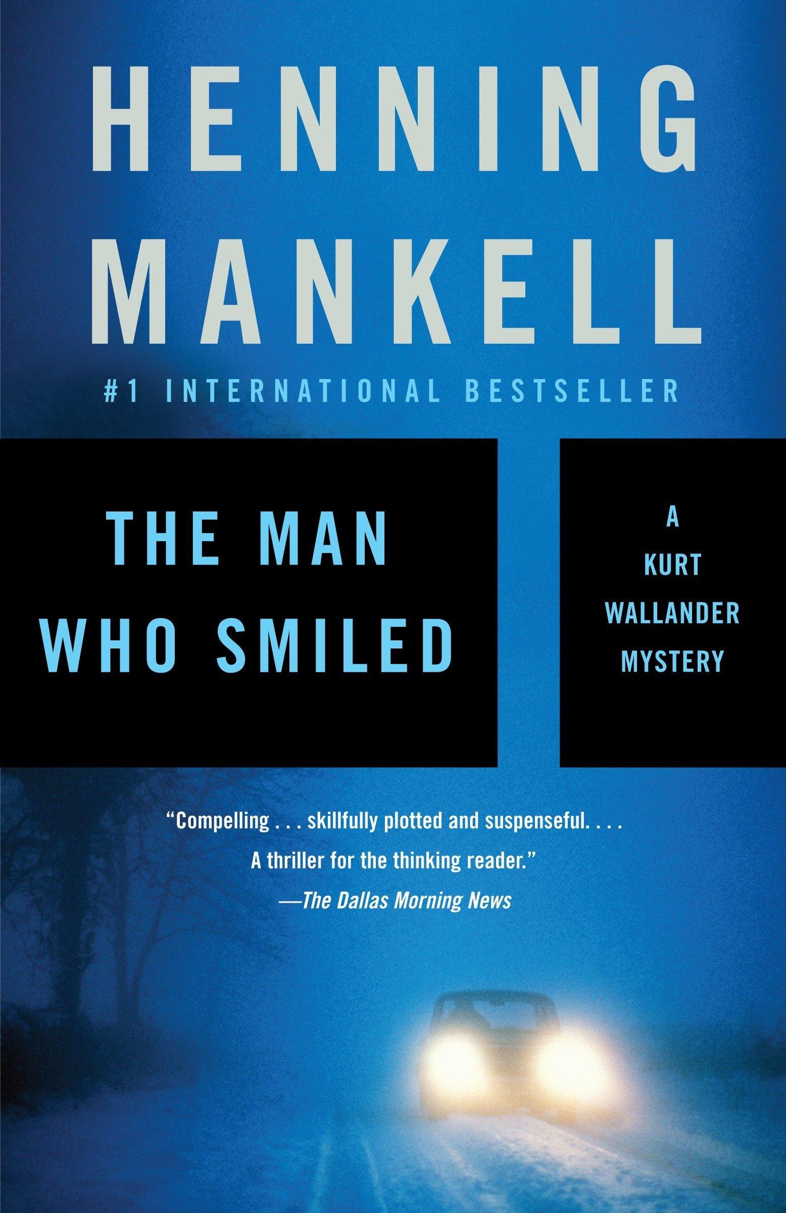 The Man Who Smiled (Kurt Wallander Series) by Vintage Crime/Black Lizard