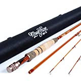 Moonshine Rod Co. The Revival Series Fly Fishing Rod with Carrying Case and Extra Rod Tip Section