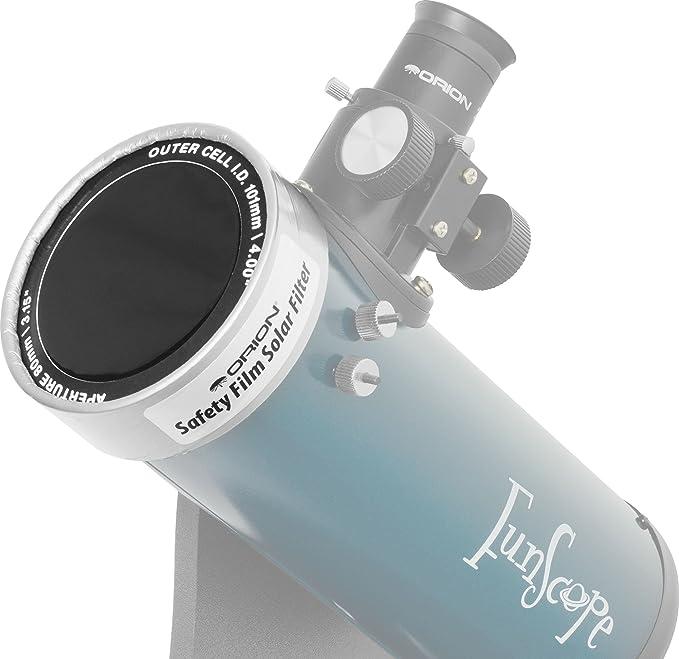 "Film Solar Filter 4.75 ST475BP1 102ED; Film Solar Filter for Telescopes That fit This Filter Size: Meade 4/"" APO"