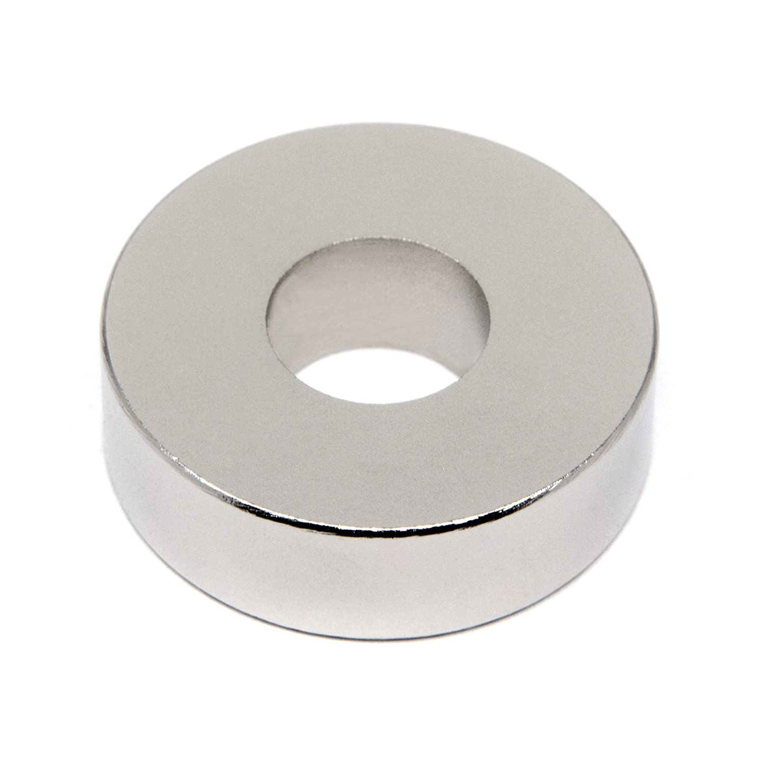 One Pack CMS Magnetics Super Strong Neodymium Magnet Ring OD1.26 x ID 1//2 x 3//8 Rare Earth Magnet Ring for Classroom Science Project and DIY Applications