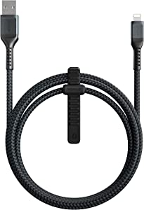 Nomad Kevlar Lightning Cable | 1.5 Meters | USB-A to Lightning