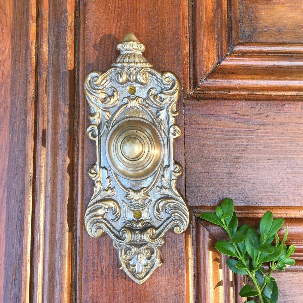 wie antike Klingel Historismus Türklingel für Gründerzeit oder Jugendstil Haus