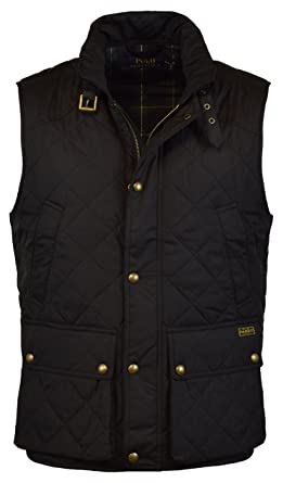 Polo Ralph Lauren Mens Quilted Outerwear Vest - S - Polo Black at ... : polo quilted vest - Adamdwight.com