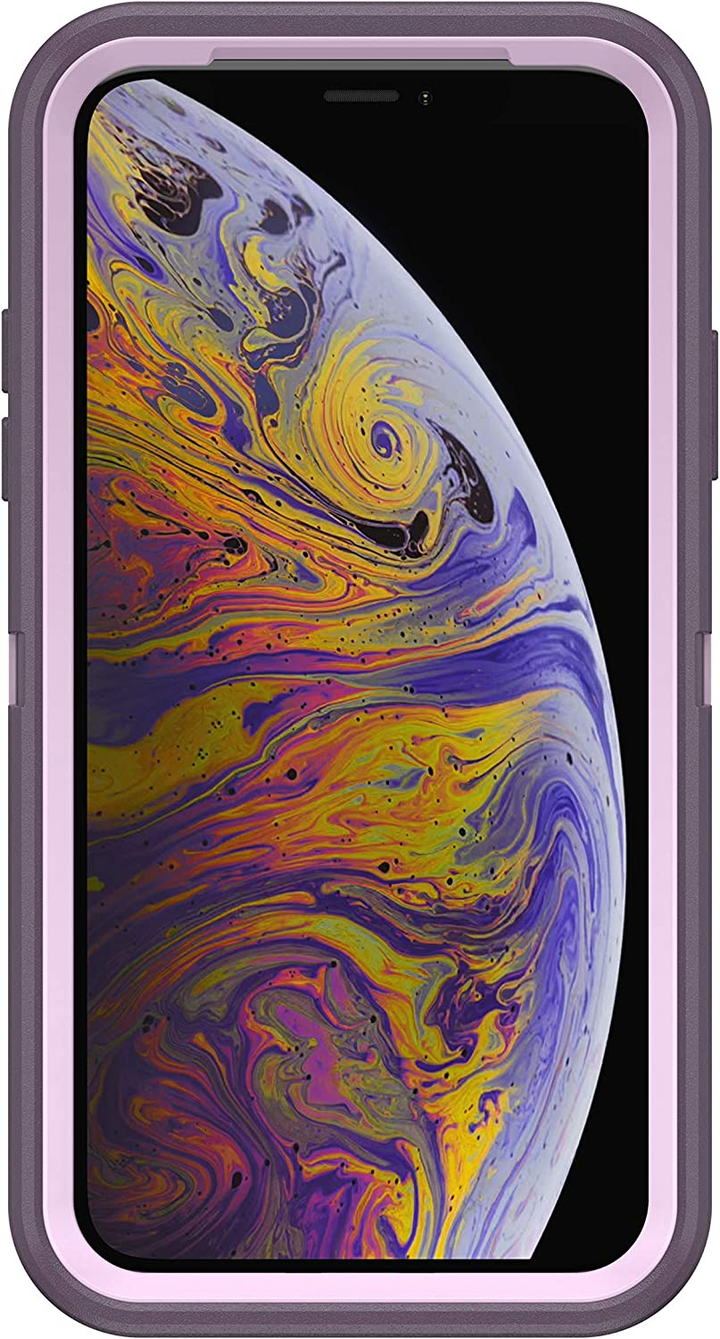 Case Only Purple Nebula with Microbial Defense Non-Retail Packaging OtterBox Defender Series Rugged Case for iPhone Xs /& iPhone X