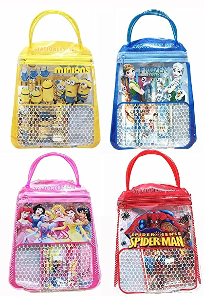 ANG Birthday Party Return Gifts Stationery Bag Set For Kids Of 12