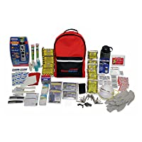 Amazon.com deals on Ready America 70285 Deluxe Emergency Kit 2-Person