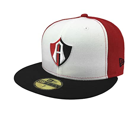 NEW ERA 59Fifty Hat Guadalajara Atlas Soccer Club Mexican League Fitted Cap (6 7/